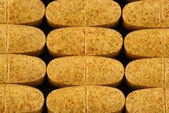 Pillules diététiques de supplément Photos libres de droits