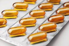 Pillules et drogues Photo stock