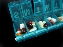 Pillules et médecines photographie stock libre de droits