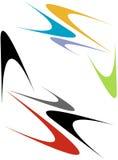 pilmodepunkter vektor illustrationer