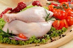 Pilon de poulet Image stock