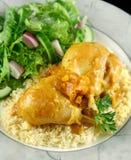 Pilon de poulet d'abricot photo libre de droits