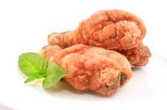 Pilon de poulet frit Photo libre de droits
