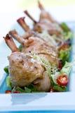 Pilon de poulet rôti Images libres de droits