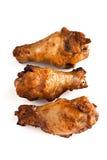Pilon de poulet rôti photo stock