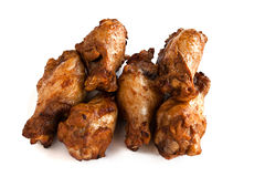 Pilon de poulet rôti cinq photographie stock