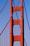 Pilon del cancello dorato, San Francisco Fotografie Stock