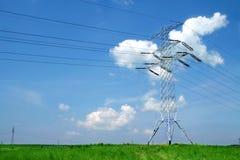 pilon energii elektrycznej Obraz Royalty Free