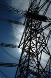 pilon energii elektrycznej Fotografia Royalty Free