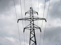 pilon energii elektrycznej fotografia stock