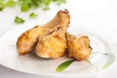 Pilon rôti de poulet Photos libres de droits