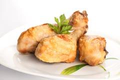 Pilon rôti de poulet Images libres de droits