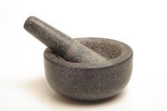 Pilon et mortier Images stock