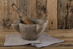 Pilon et mortier photos stock