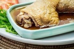 Pilon rôti de poulet Photo stock