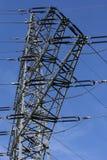 Pilone ad alta tensione Fotografie Stock Libere da Diritti