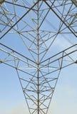 Pilone ad alta tensione di potenza di elettricità Fotografia Stock Libera da Diritti