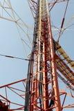 Pilone ad alta tensione di potenza di elettricità Fotografia Stock