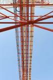 Pilone ad alta tensione di potenza di elettricità Immagine Stock Libera da Diritti