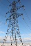 Pilone & linee elettriche Fotografie Stock Libere da Diritti