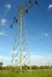 Pilone di alta tensione Fotografia Stock