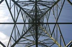 Pilone di elettricità Immagini Stock Libere da Diritti