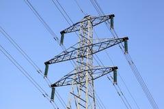 Pilone di elettricità Fotografia Stock Libera da Diritti