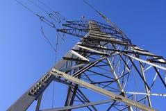 Pilone elettrico Immagine Stock