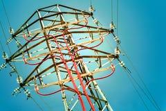 Pilone elettrico immagine stock libera da diritti