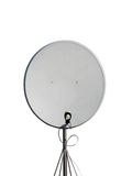 Pilone satellite, antenna parabolica (antenne), Immagine Stock Libera da Diritti