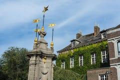 Pilory Fountain in Mons, Belgium Stock Photography