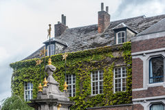 Pilory Well Fountain in Mons, Belgium. Royalty Free Stock Photography