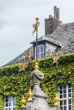 Pilory Well Fountain in Mons, Belgium. royalty free stock photo