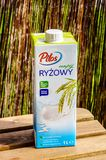 Pilos Rice milk Stock Images