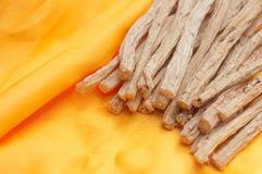 Pilosula van Codonopsis Stock Foto