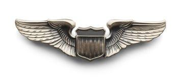 Pilotów skrzydła ilustracja wektor