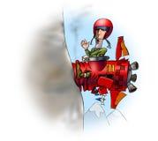 pilot Διανυσματική απεικόνιση