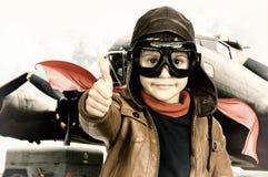 Pilot Fotografia Stock