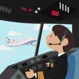 Pilot Lizenzfreies Stockbild