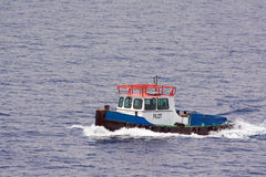 Pilot boat Stock Photo