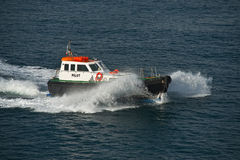 The pilot boat Stock Image