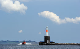 Pilot boat Royalty Free Stock Images