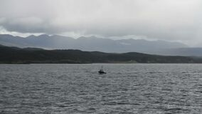 Pilot boat, Beagle Channel, Argentina