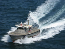 Pilot Boat Charleston Harbor South Carolina 3 stock image