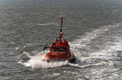 Pilot boat in Esbjerg, Denmark. Royalty Free Stock Images