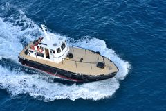 Pilot boat. Stock Images