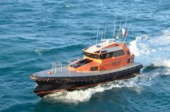 Pilot Boat, Port of Geraldton, Western Australia Stock Photos
