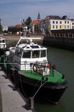 Pilot boat in Vlissingen Stock Images