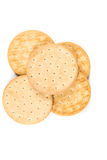 Pilot bread biscuits Stock Photography
