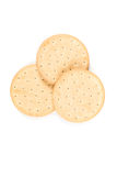 Pilot bread biscuits Royalty Free Stock Photos